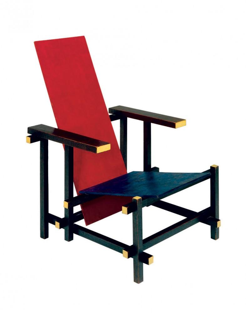 Silla Roja y Azul - Gerrit Rietveld