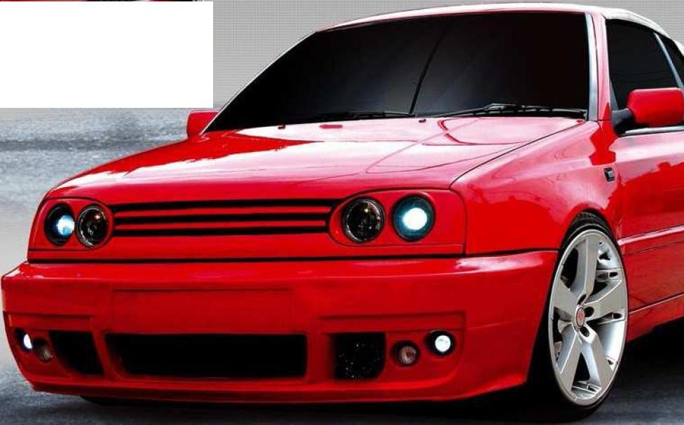 Defensa Delantera Full O Racer Golf Y Jetta A3 Au1 - $ 2,499.00 en ...